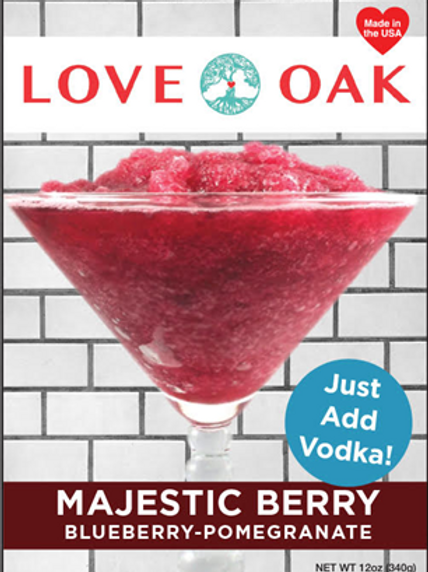 Majestic Berry - Blueberry Pomegranate - Good Times Slushies