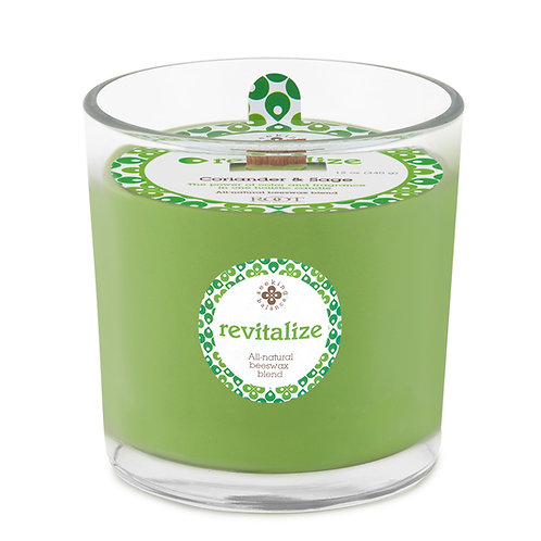 Revitalize - Coriander & Sage - Root Candle