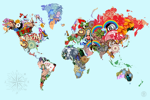 THE SCIENCE OF LUCK - WORLD MAP