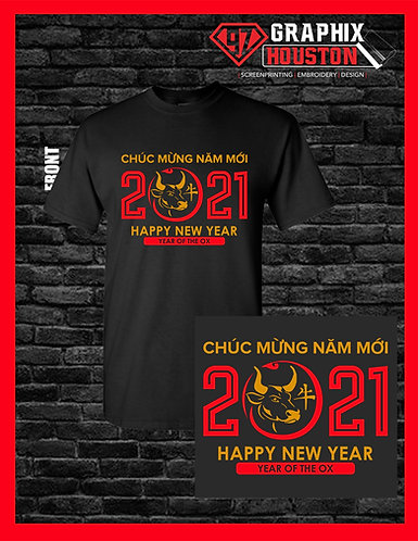 Year of the Ox Lunar New Year Shirt
