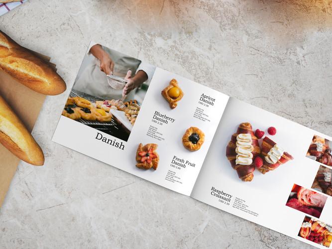 NX Bakery Menu