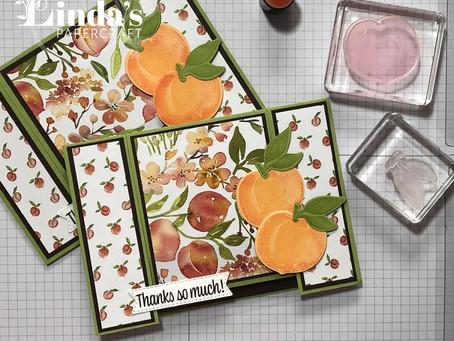 Peachy Spanner Card