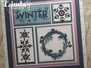 Stamp Around UK Winter Home Decor