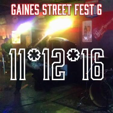 Gaines Street Fest November 12th, 2016