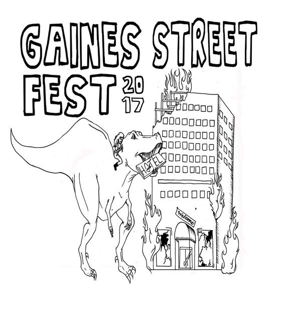 Gaines Street Fest 2017 and interviews with Look Mexico and BAET