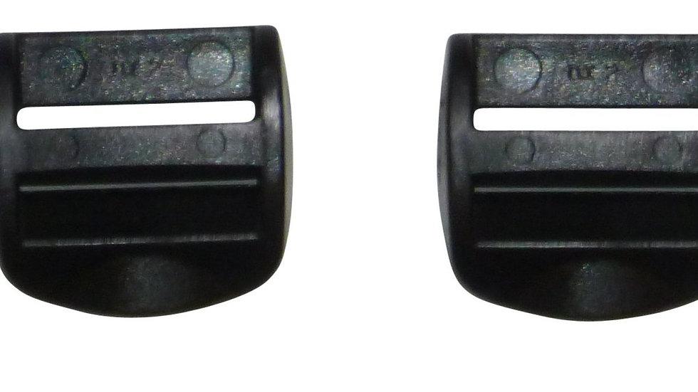 25mm plastic ladderlock buckle