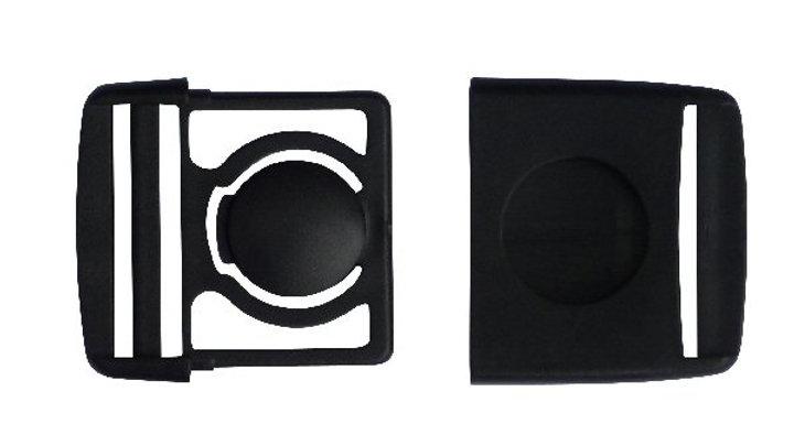 40mm button centre release buckle