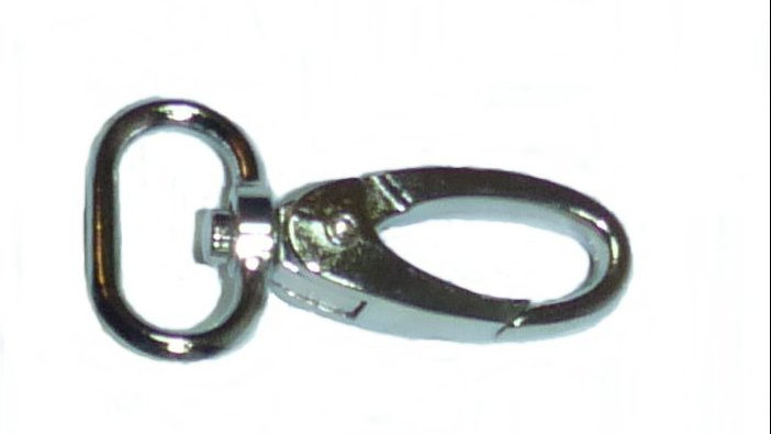 20mm alloy silver-coloured snap hooks
