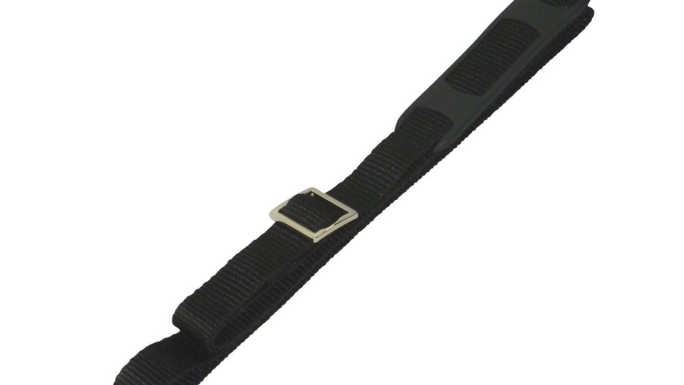25mm Bag Strap with Metal Buckles and Shoulder Pad, 150cm