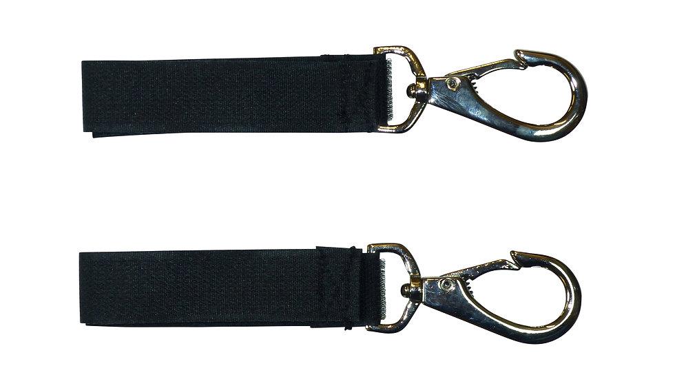 25mm Hook & Loop Hanging Strap with Lobster Buckle (Pair)