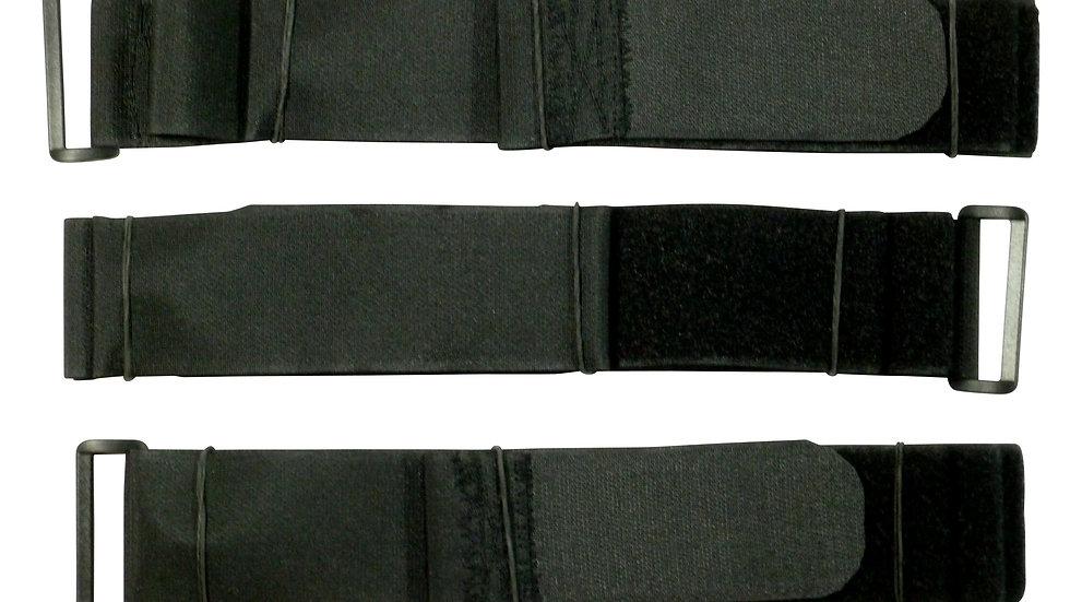 50mm Hook and Loop Cinch Straps, 150cm, Pack of 3