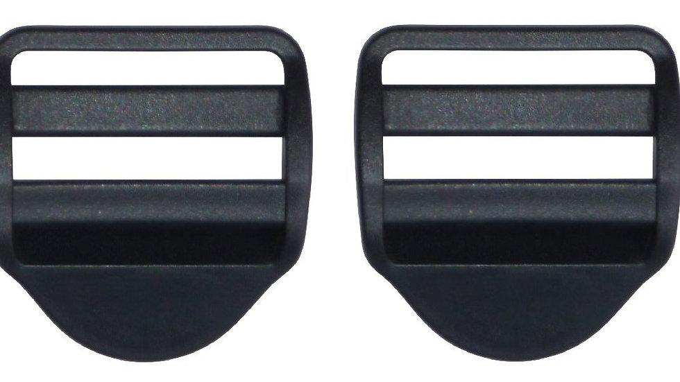 50mm plastic ladderlock buckle