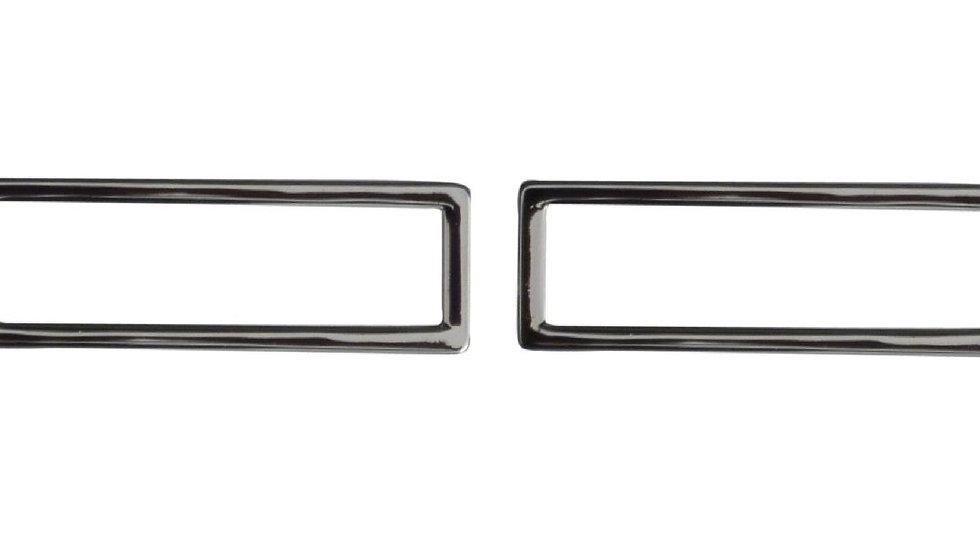 50mm alloy metal square or rectangular ring