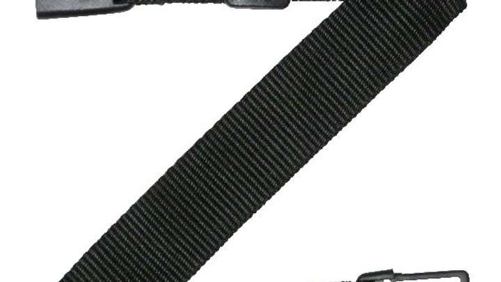 38mm Webbing Strap with Centre Button Release and Triglide Slider Buckles