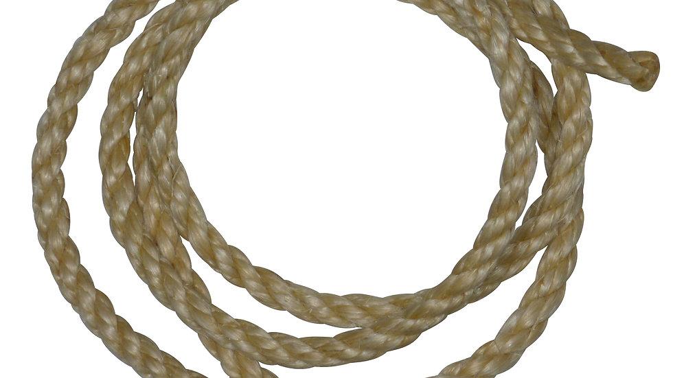 8mm sisal rope by the metre