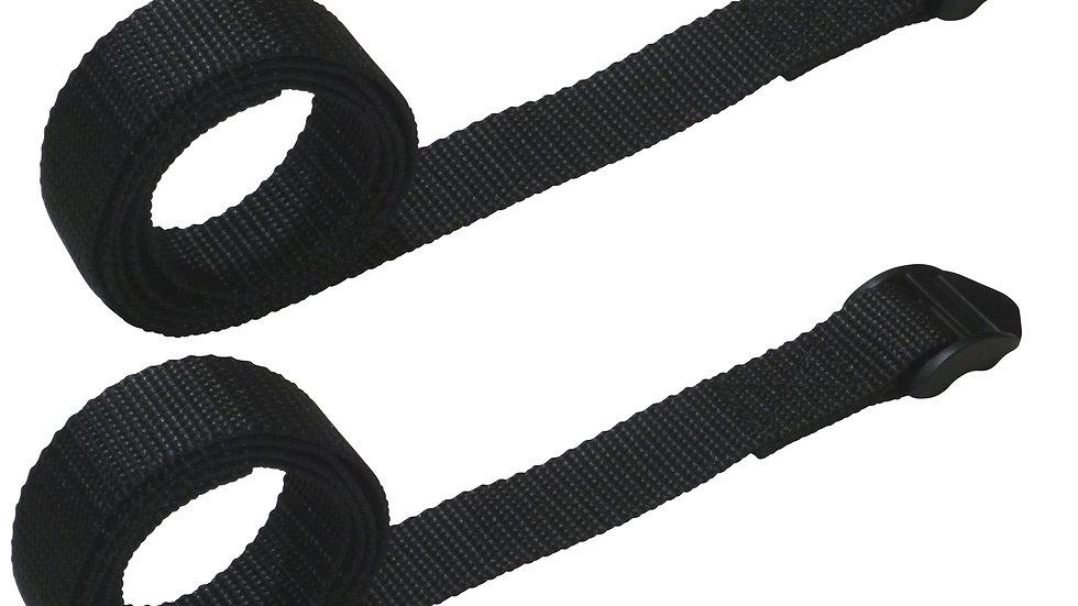 25mm Webbing Strap with Ladderloc Buckle (Pair)