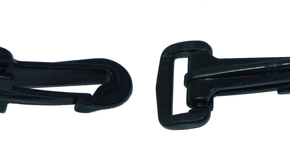 25mm plastic swivel snap hook