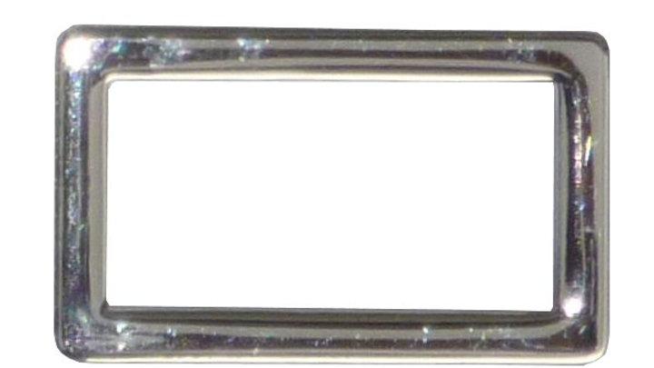 25mm alloy metal square or rectangular ring