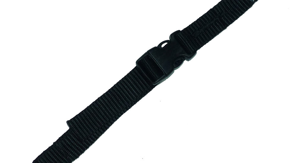 19mm Webbing Strap with Quick Release Buckle (Pair)
