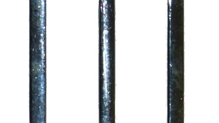 25mm alloy silver-coloured triglide