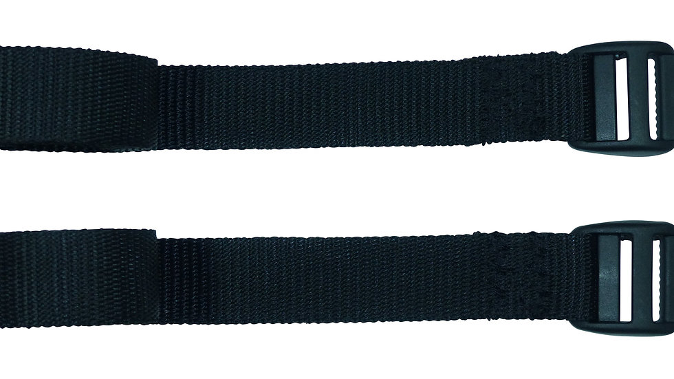 25mm Webbing Strap with Superstrong Ladderloc Buckle (Pair)