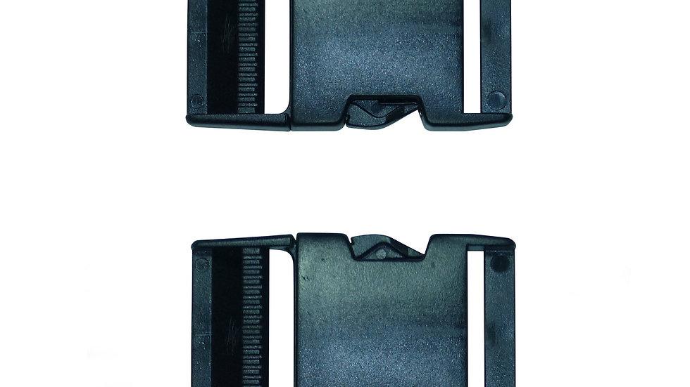 40mm plastic side release buckle