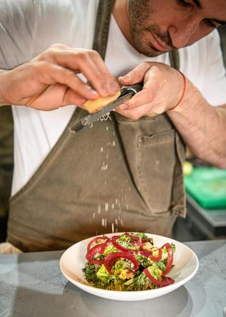 London Food and Drink Photography - Cinder Restaurant Belsize Park Menu London 2021 - Nic