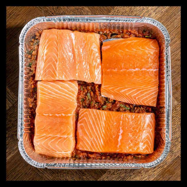 Salmon provencal