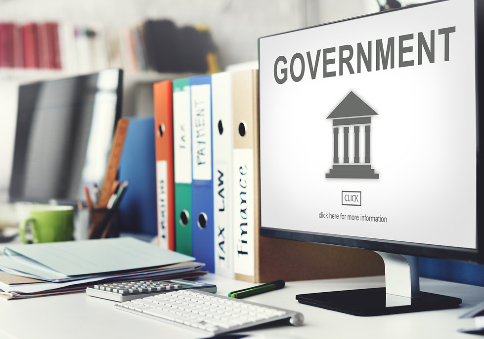 Government Administration Pillar Graphic
