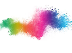 abstract powder splatted background. Col