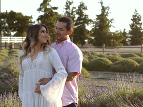 Cinematic Gender Reveal Video | Pageo Lavender Farm, Turlock