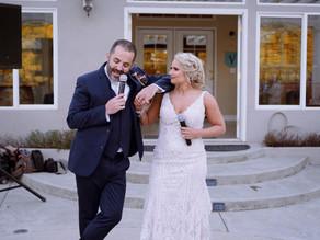 Fun Backyard Wedding | Nathan + Kristi | California Wedding Videographer