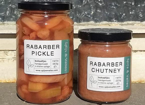 Lente duo van Rabarber