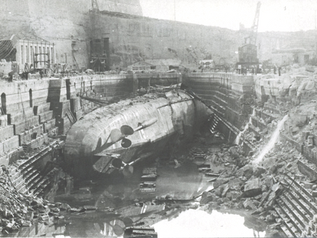 The Bombing of HMS Kingston