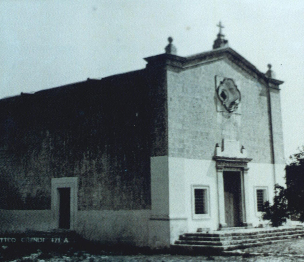 The chapel pre-World War Two
