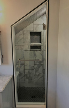 Custom Small Space Shower Door