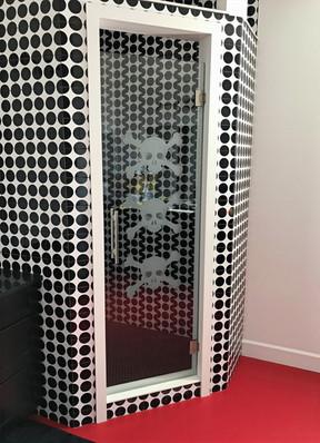 Custom Design Shower Door