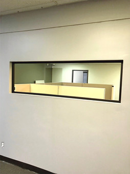 Interior Office Window Replacement