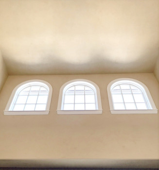 Vaulted Ceiling Custom Window Replacement