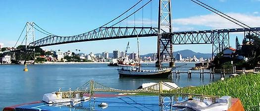 Miniatua Ponte Hercilio Luz