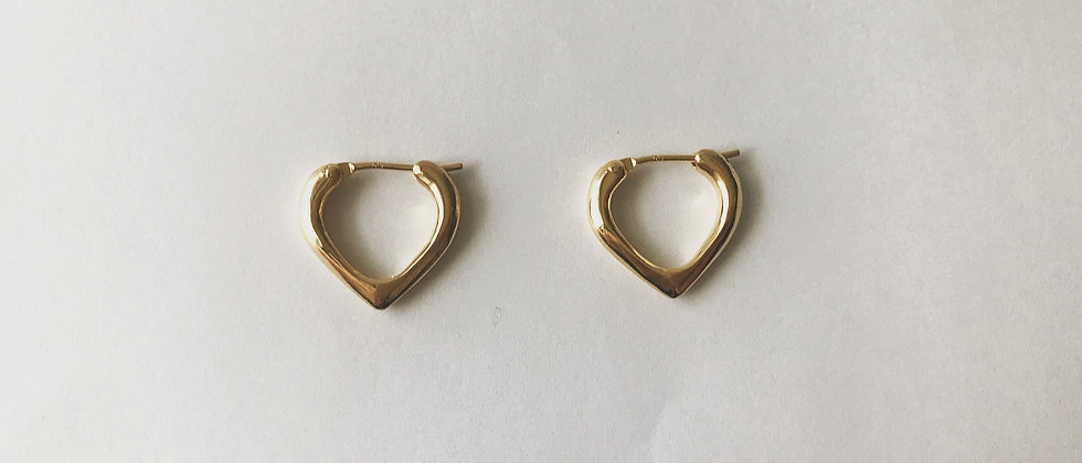 Trickle earrings(K18)