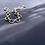 Thumbnail: Chunky oval bracelet S (Silver)