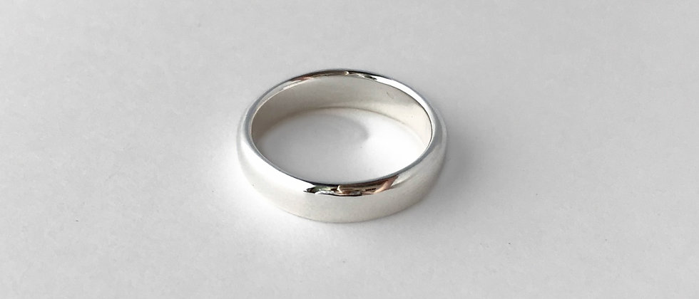 Basic bands -5mm- (Silver)