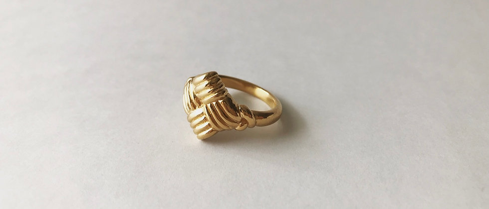 Twill weave ring (K18)