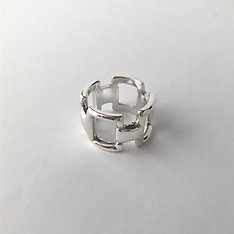 Squares ring (Silver)