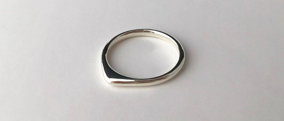 Horn ring (Silver)