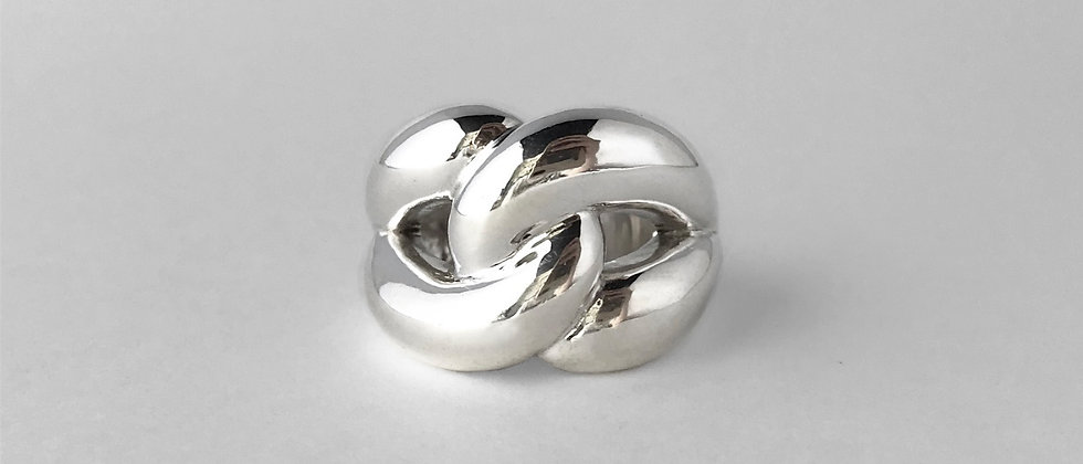 Link ring (Silver)