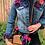 Thumbnail: Multi Flower Vintage Denim Jacket