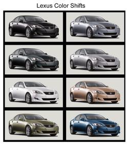 Lexus Colors