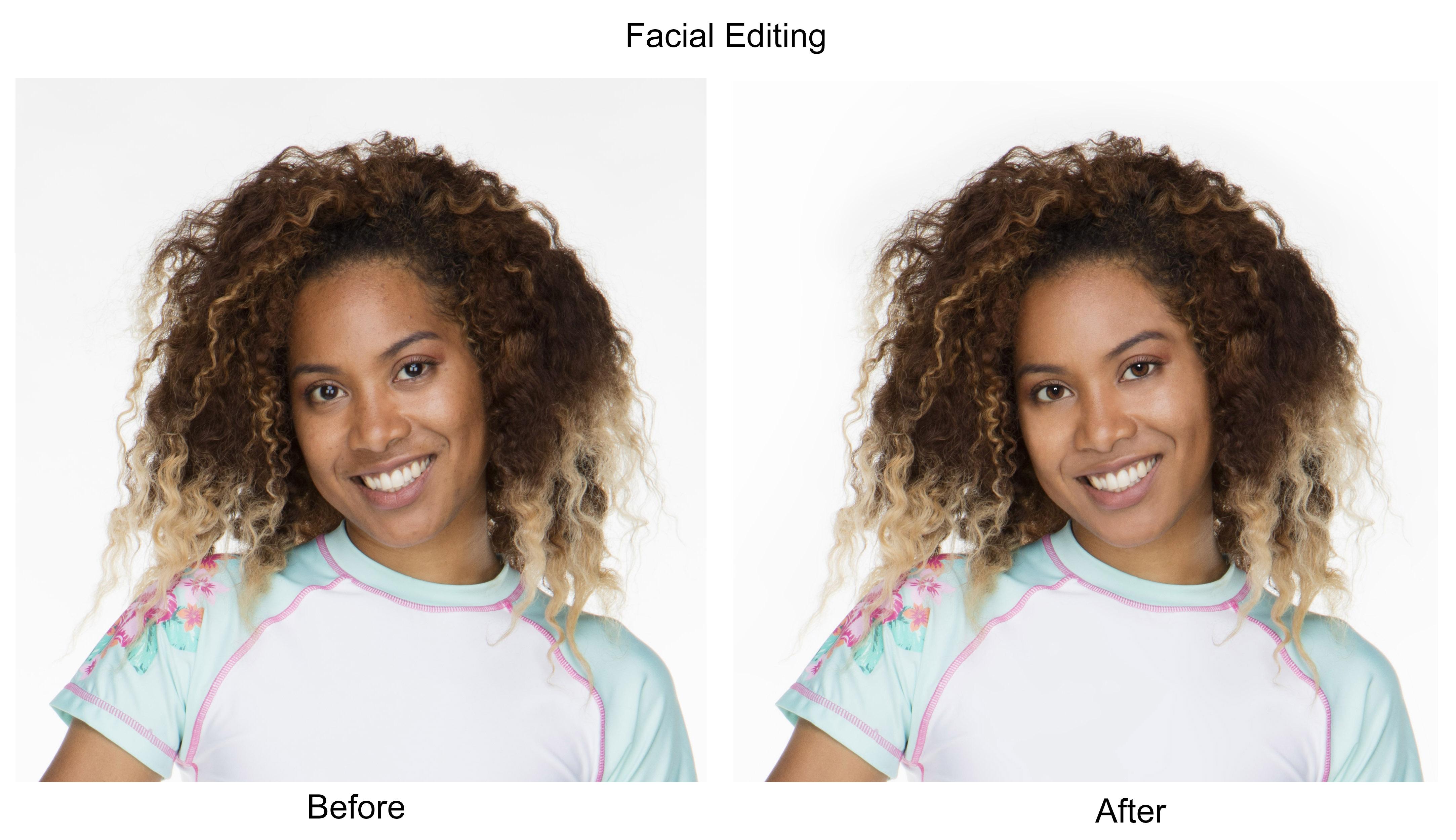 Facial edit